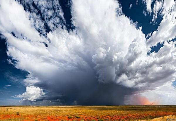 Взрыв облаков