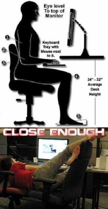 Достаточно близко