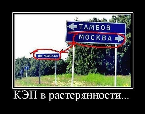 Все дороги ведут в Москву