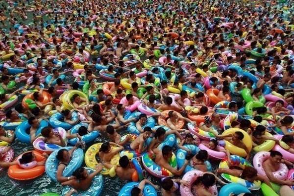 Китайский аквапарк