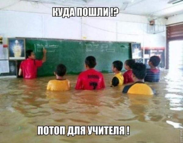 Потоп - для учителя