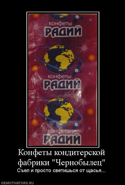 Конфеты Радий