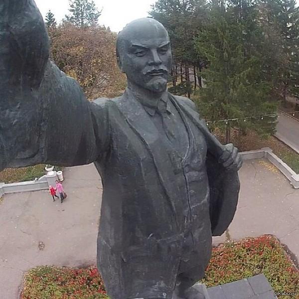 Ленин и селфи