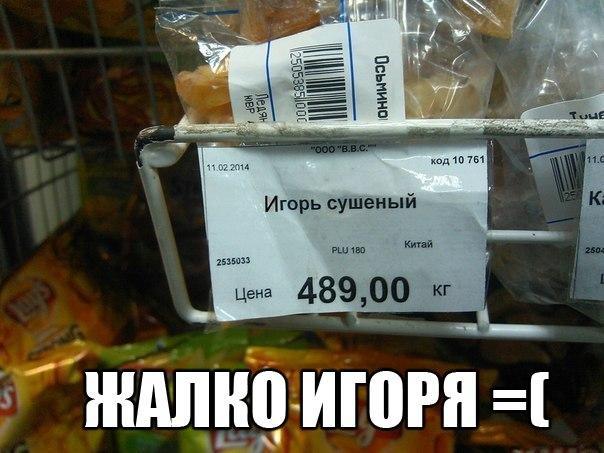 Игорь сушёный