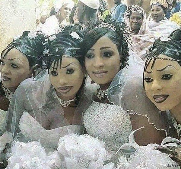 Когда на свадьбе неопытный визажист