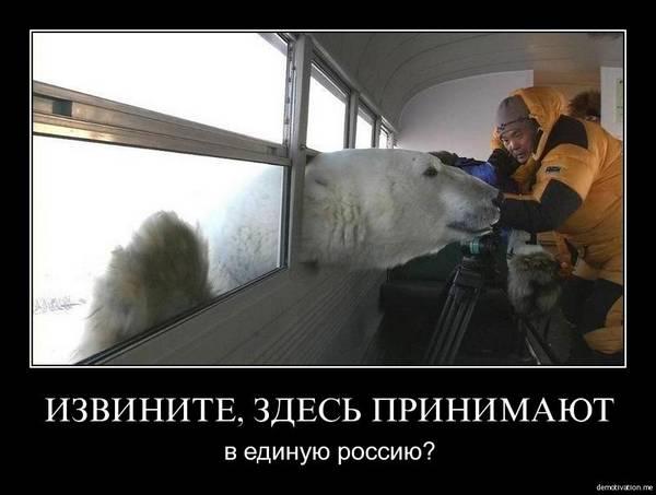 Извините, здесь принимают в Единую Россию?