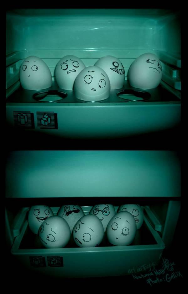 Когда холодильник закрыт