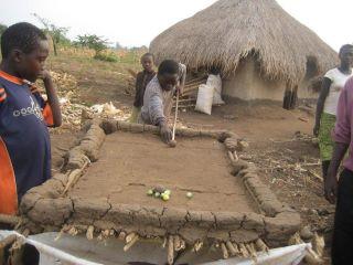 Африканская народная забава