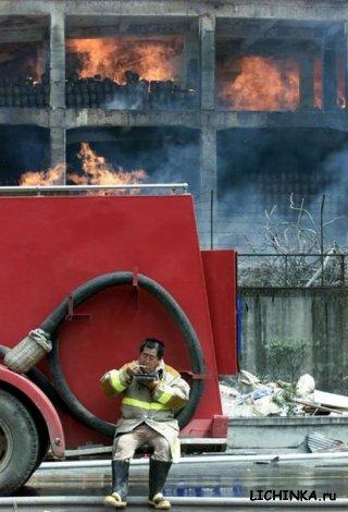 Настоящий пожарник